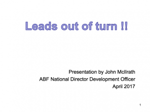Leads-Out-Of-Turn