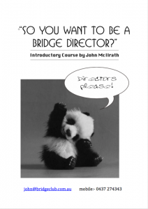 So you want to be a bridge director