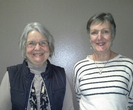 Sandra Curran and Dianne Hasler