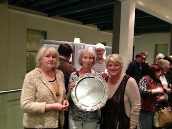Eva Caplan and Rena Kaplan winners of the McCance Swiss Pairs