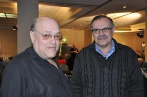 Bobby with George Gaspar