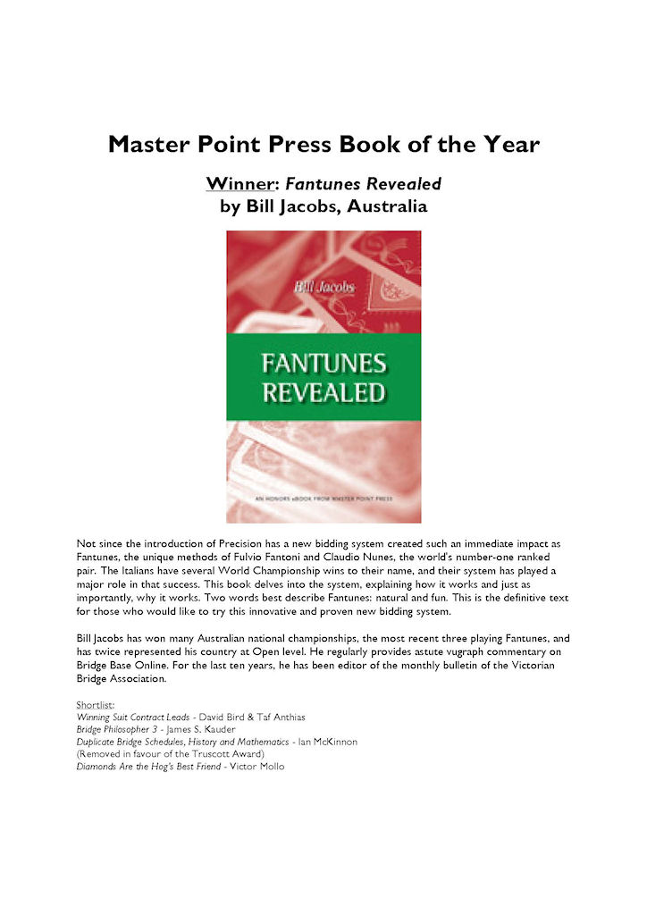 IBPA Book of the Year Award