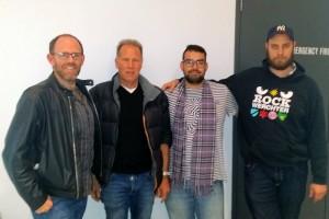 William Jenner O'Shea, Simon Hinge, Max Henbest and Mike Doecke