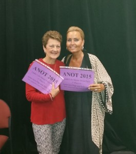 2015 Autumn Nationals Under Life Pairs Winners: Sally Luke and Genevieve Page