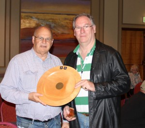 Bob Gallus and Laurie Kelso Winners Island Pairs 2016