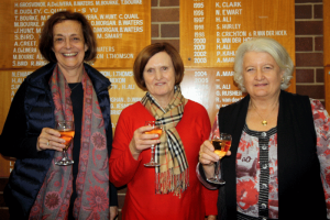 Canberra Bridge Club Teachers Ann Pettigrew, Jeanette Grahame and Barb Toohey.