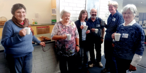 U3A Beginners Morning Tea.